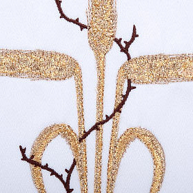 Linge d'autel 4 pcs symboles épis et épines s3