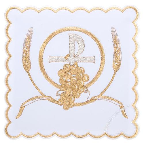 Servizio da messa 4pz. simboli croce P uva spighe 1