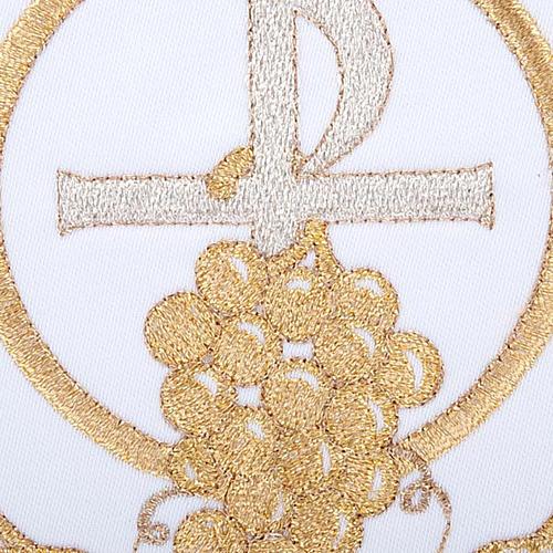 Servizio da messa 4pz. simboli croce P uva spighe 3