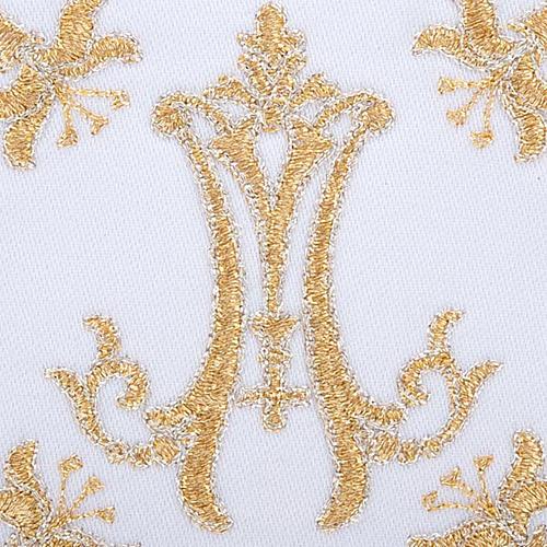 Servizio da mensa 4pz. simboli Mariano e gigli 3