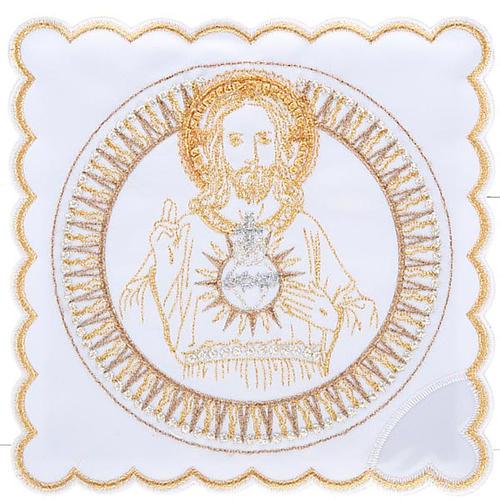Linge d'autel 4 pcs Sacre Coeur de Jésus 1
