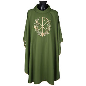 Chi-Rho Liturgical Chasuble and Stole s7