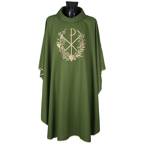 Chi-Rho Liturgical Chasuble and Stole 7