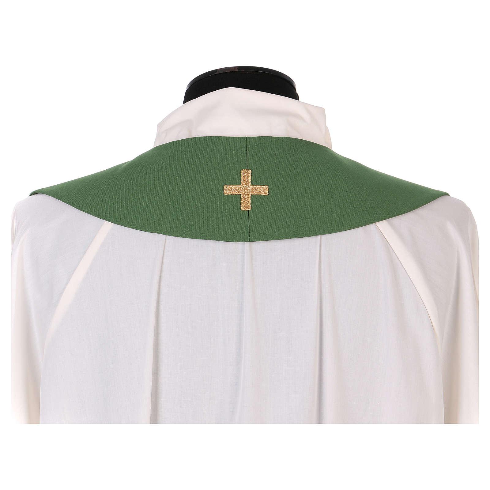 Estola litúrgica bordado con XP 4
