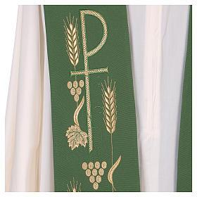 Estola litúrgica bordado con XP s2