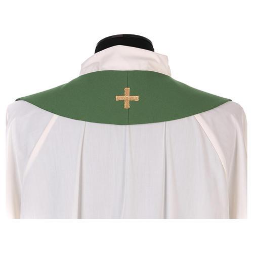 Estola litúrgica bordado con XP 3