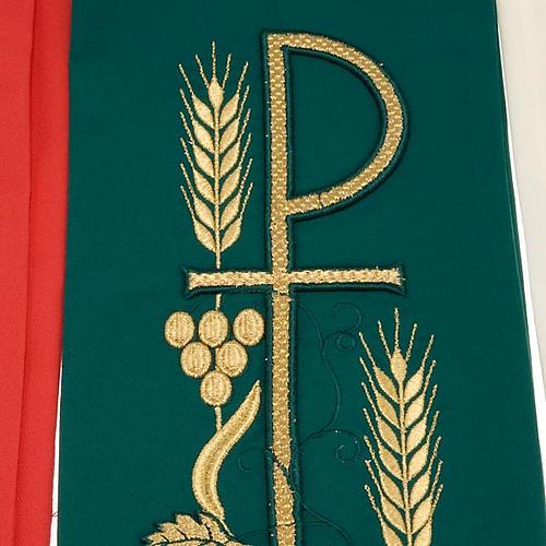 Stola liturgica ricamo con XP 9