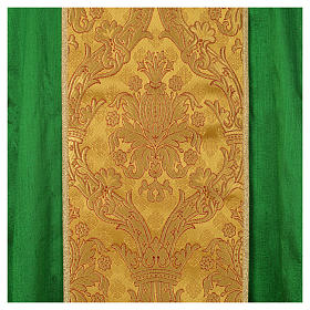 Chasuble 100% silk decorated in gold s9