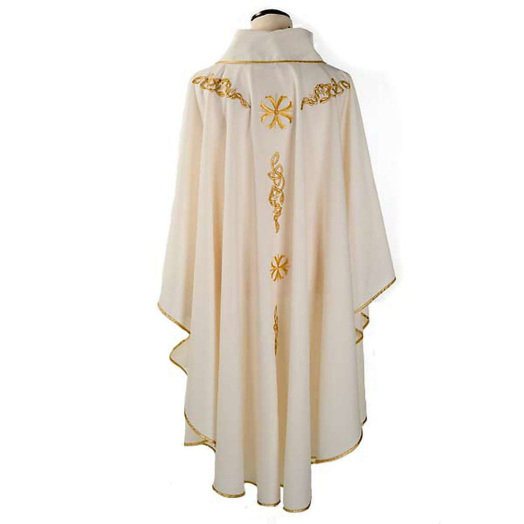 Priest Chasuble with Golden Embroidery 4
