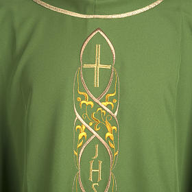 Chasuble IHS embroidery s2