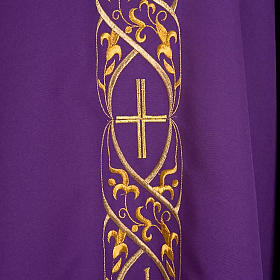 Chasuble IHS embroidery s5