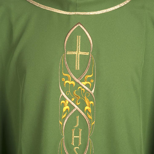 Chasuble IHS embroidery 2