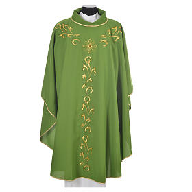 Chasuble golden embroidery and cross s13