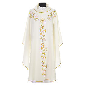 Chasuble golden embroidery and cross s4