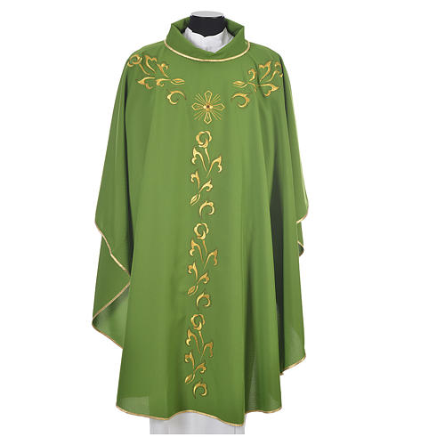 Chasuble golden embroidery and cross 6