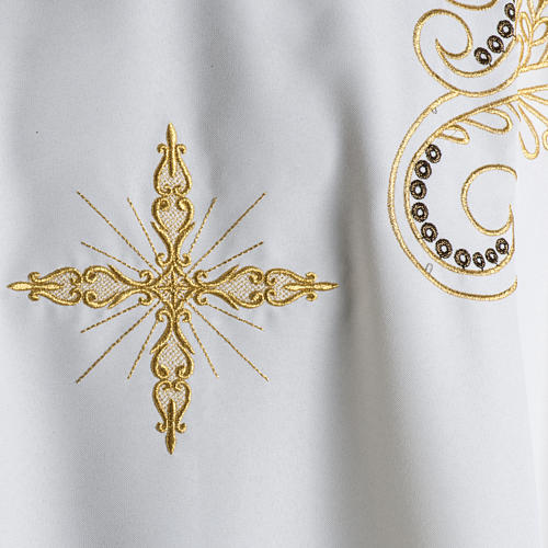 Chasuble golden cross embroidery 3
