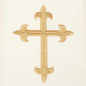 Casula mariana Madonna della Tenerezza e giglio s7