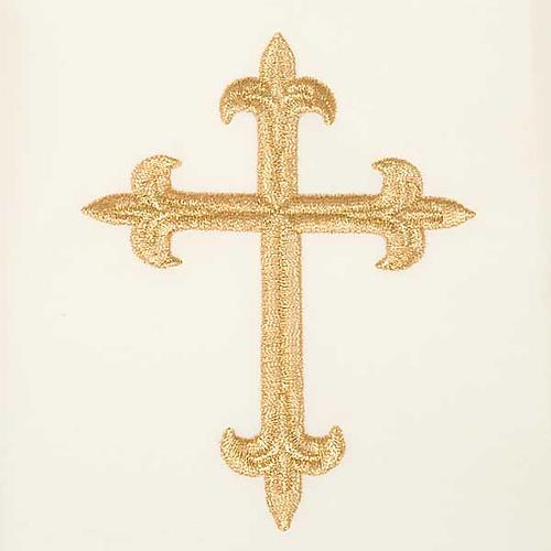 Casula mariana Madonna della Tenerezza e giglio 7