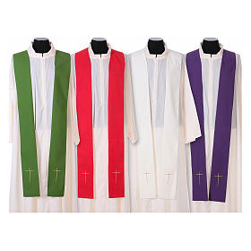 IHS Chasuble with grapes and ears of wheat s15