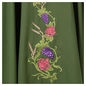 IHS Chasuble with grapes and ears of wheat s17