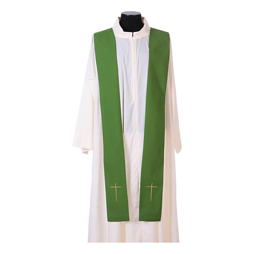IHS Chasuble with grapes and ears of wheat 11