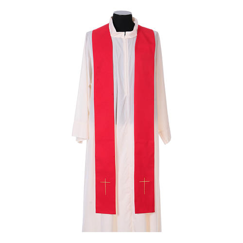 IHS Chasuble with grapes and ears of wheat 13