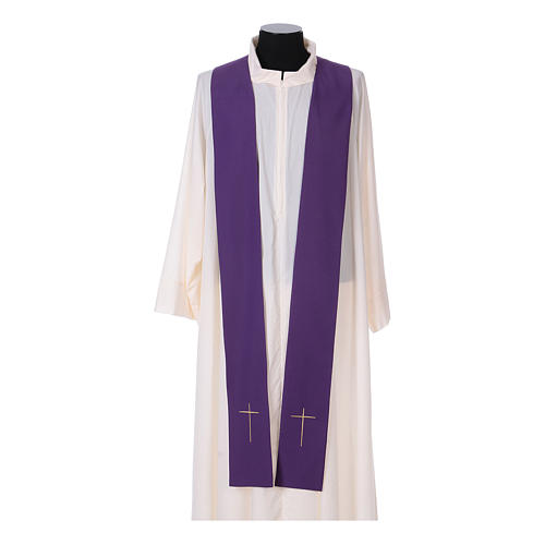 IHS Chasuble with grapes and ears of wheat 14