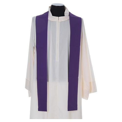 Chasuble liturgique croix raisin lampe 8