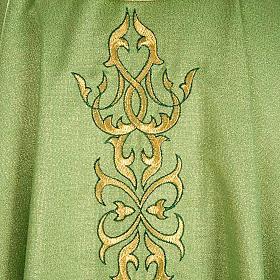 Casulla sacerdotal lúrex decoraciones s4