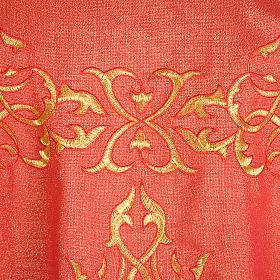 Casulla sacerdotal lúrex decoraciones s5