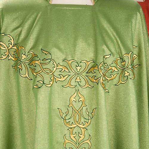 Casulla sacerdotal lúrex decoraciones 3