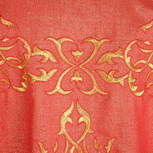 Casula sacerdotale lurex decori torciglioni 5