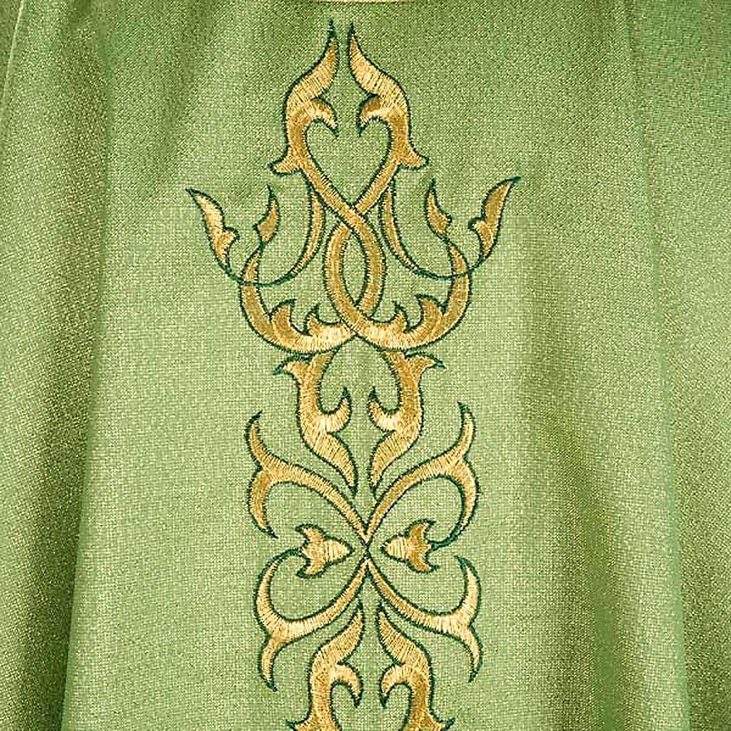 Ornat kapłański lureks dekoracyjny splot 4