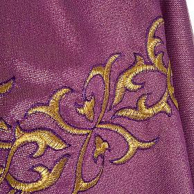 Ornat kapłański lureks dekoracyjny splot s6