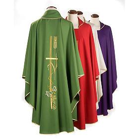 Casula sacerdotale spighe dorate vari colori s2