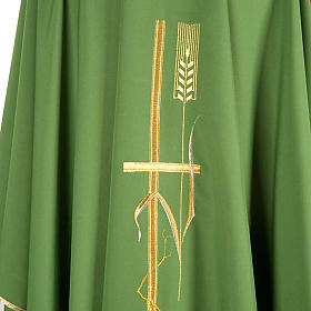 Casula sacerdotale spighe dorate vari colori s3