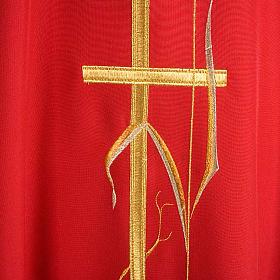 Casula sacerdotale spighe dorate vari colori s6