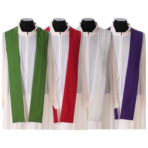 Casulla litúrgica IHS amabas caras 10