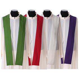 Casula liturgica decoro IHS fronte e retro s10