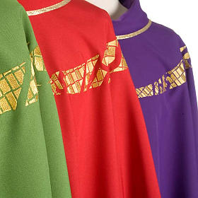 Priest Chasuble with IHS symbol embroidered s4