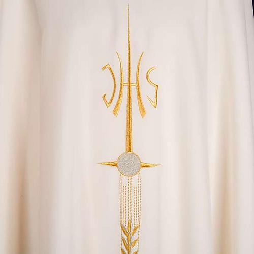 Casula sacerdotale IHS spiga calice uva 5
