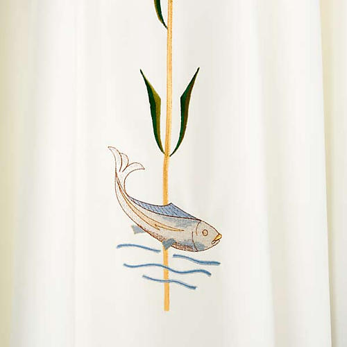 Casula decori IHS spiga pesce 6