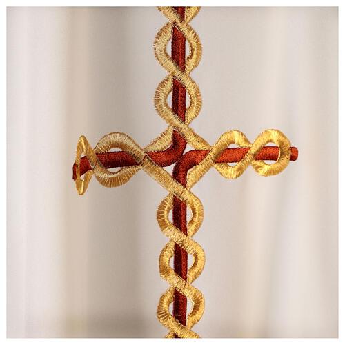 Casula cruz em torcida 7