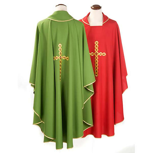Catholic Chasuble with Spiral Cross 2