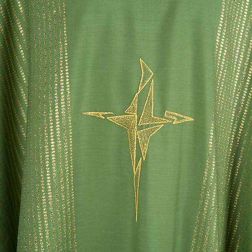 Chasuble lurex croix stylisée 3