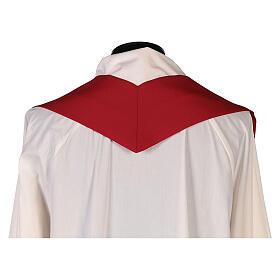 Casula sacerdotale croce doppia stilizzata poliestere s9