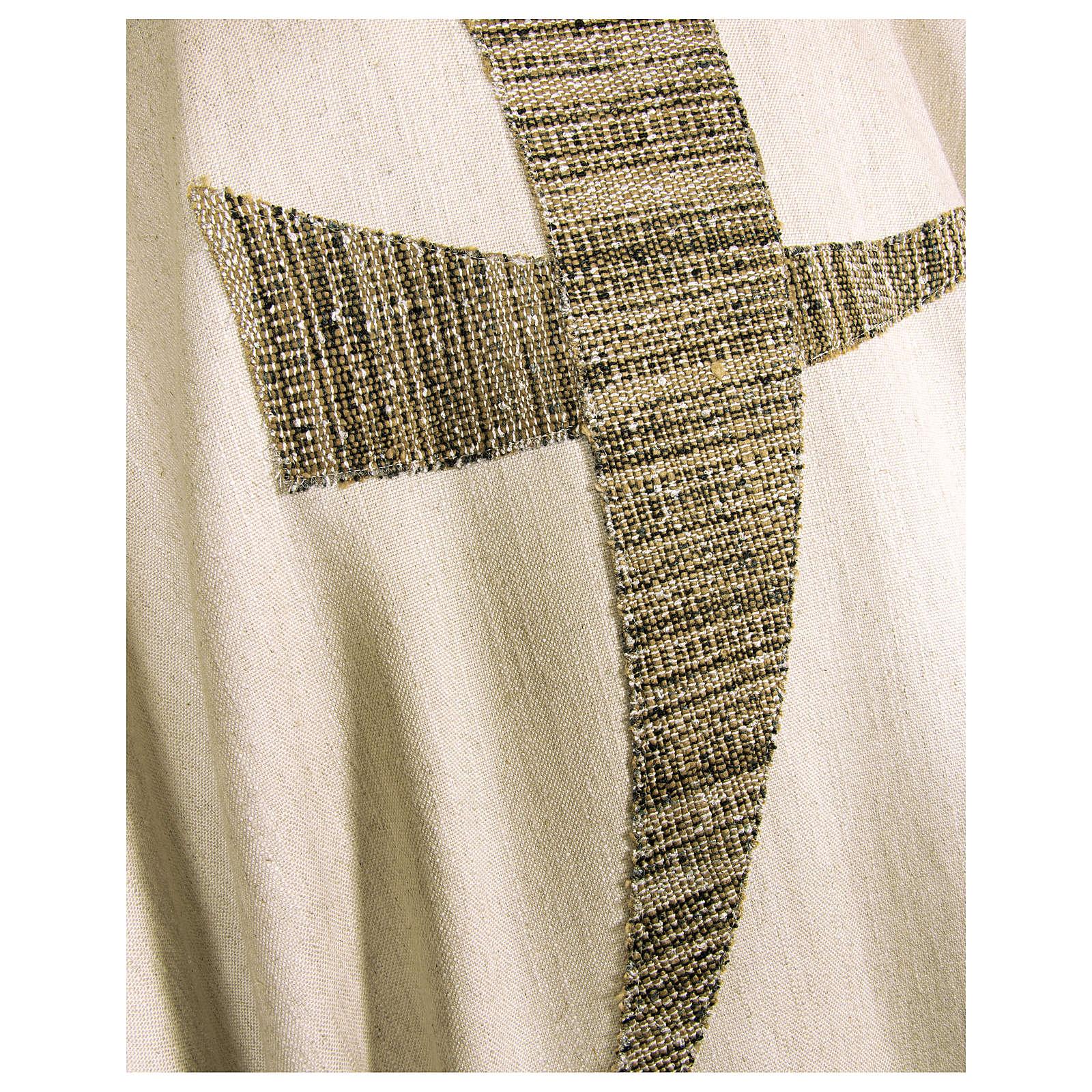 Casula San Francesco tau stilizzato 100% cotone 4