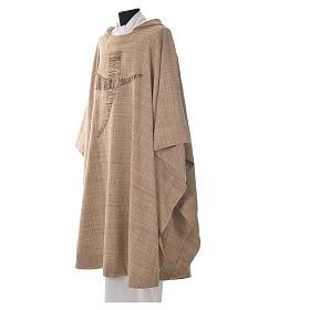 Casula San Francesco tau stilizzato 100% cotone s2