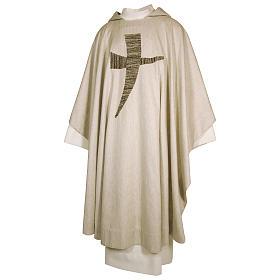 Casula San Francesco tau stilizzato 100% cotone s1