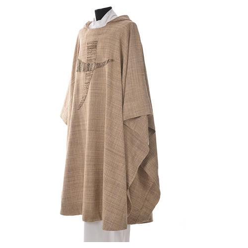 Casula San Francesco tau stilizzato 100% cotone 2